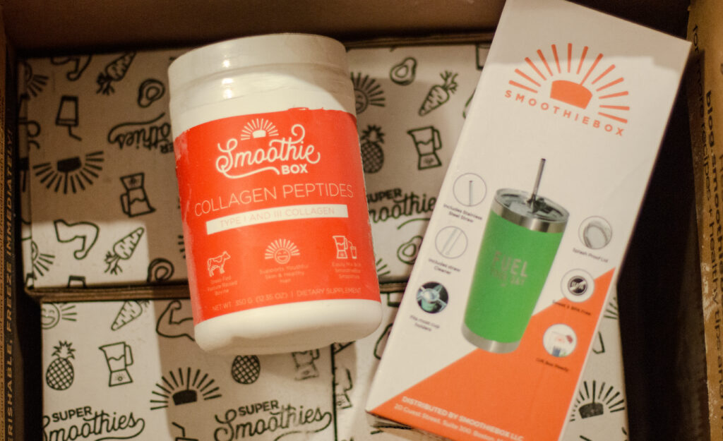 SmoothieBox Discount Code Review Unboxing