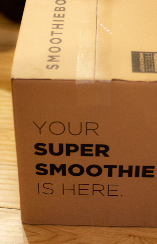 SmoothieBox Discount Code Review box