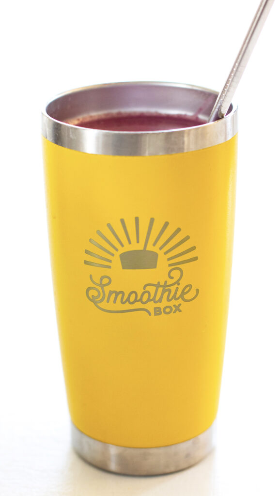 SmoothieBox pomegranate berry smoothie