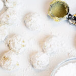 easy lemon cookies ready to bake