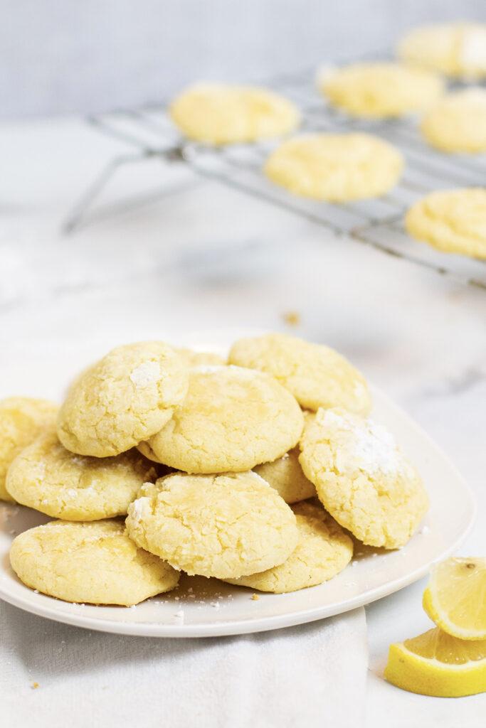 lemon cookies Rainbow Delicious
