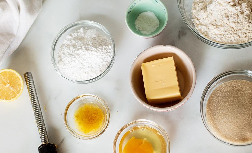 lemon cookies ingredients