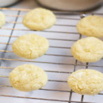 the best lemon cookies out of the oven