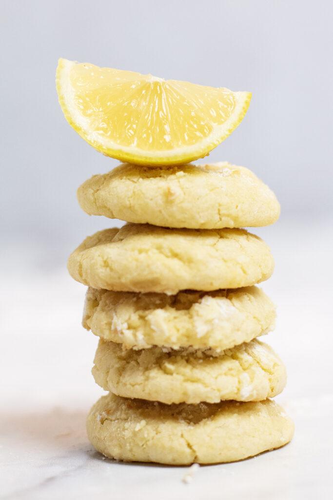 the best ever lemon cookies