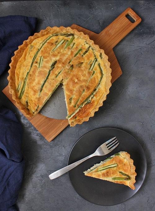 Asparagus Appetizer Recipes | Quiche
