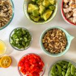 Ingredients for Wild Rice Chicken Salad