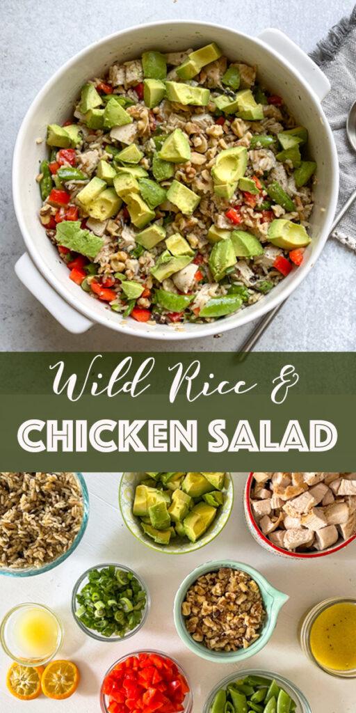 Wild Rice & Chicken Salad Recipe
