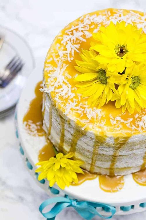 Mango Cake - Easy Mango Desserts