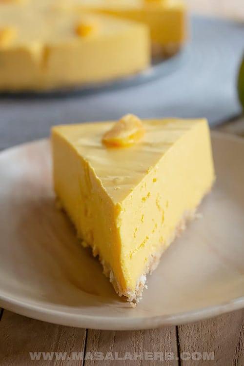 Mango Cheesecake - Easy Mango Recipes