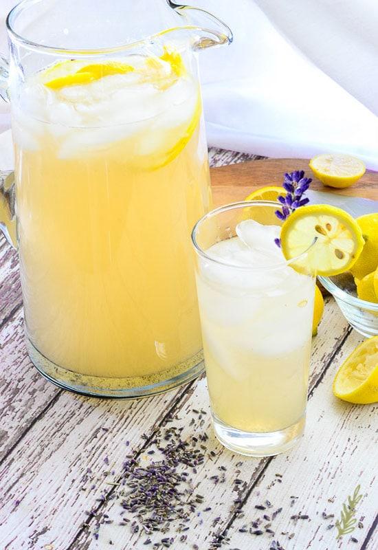 lavender cardamom lemonade | unique lemonade recipes