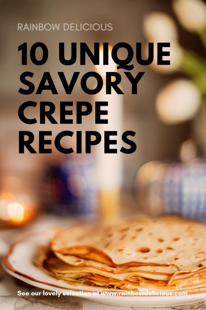 crepe savory