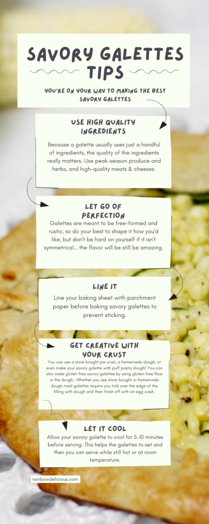 Savory Galette Tips
