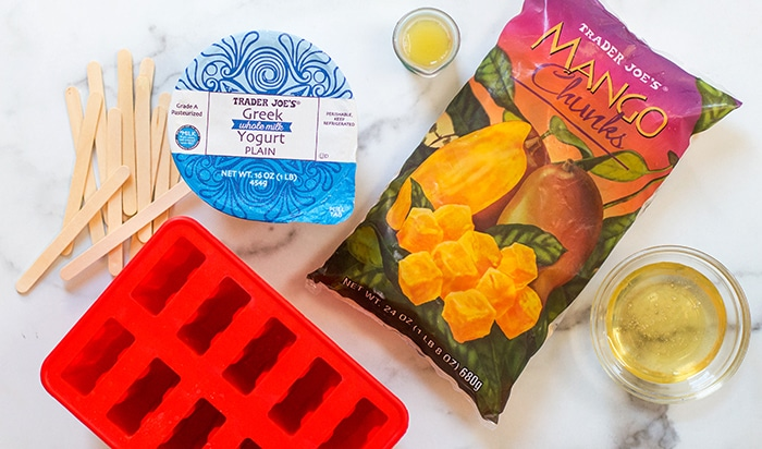 Easy Mango Popsicle Ingredients
