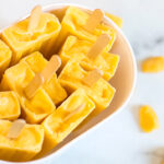 Mango popsicle recipe Rainbow Deliciouss