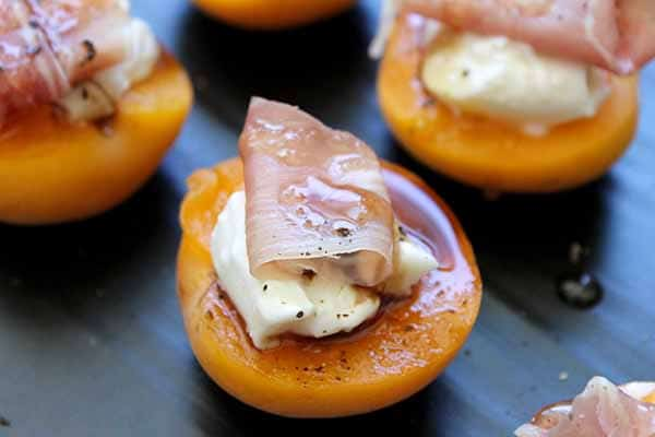 Apricot Prosciutto Bites | Burrata Recipes
