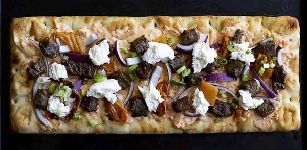 Korean Pizza with Burrata | Burrata Recipes