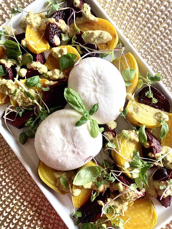 Roasted Beets and Burrata | Burrata Recipes