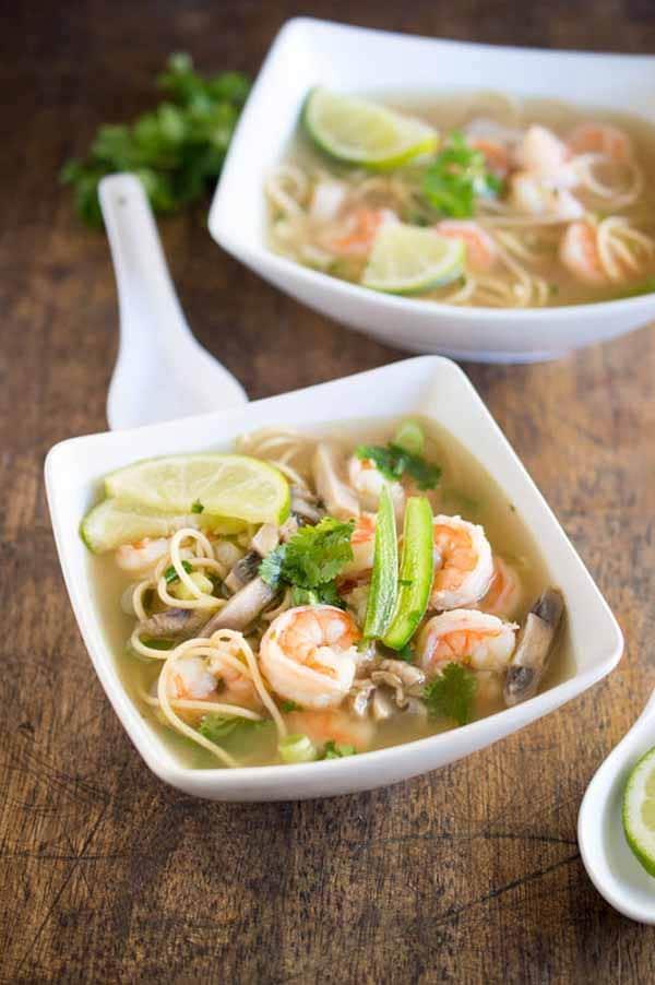 Spicy-Shrimp-Pho-Dutch-Oven-Soups