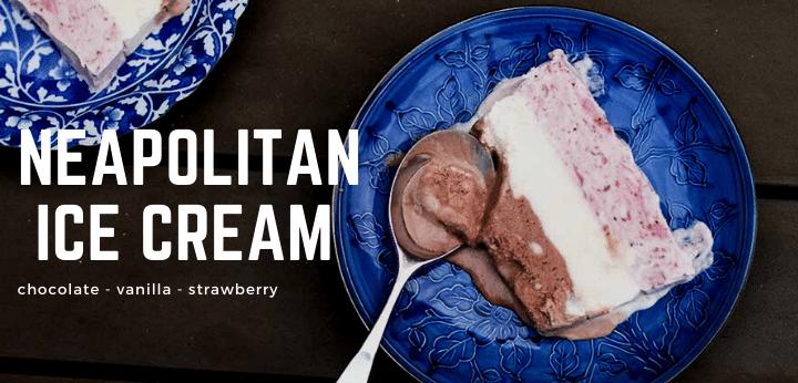 Neapolitan Ice Cream Recipe Rainbow Delicious