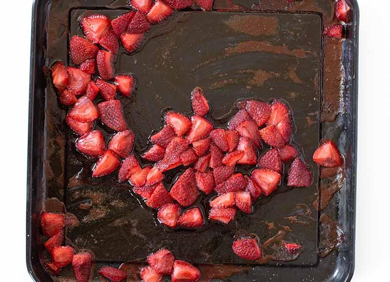 Roasted Strawberries for Neapolitan Ice Cream Recipes